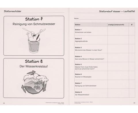 Wasser - Lernstationen inklusiv-5