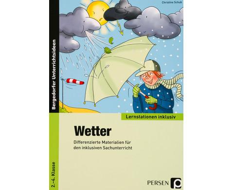 Wetter - Lernstationen inklusiv-1
