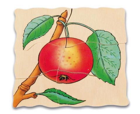 Lagen-Puzzel Apfel-5