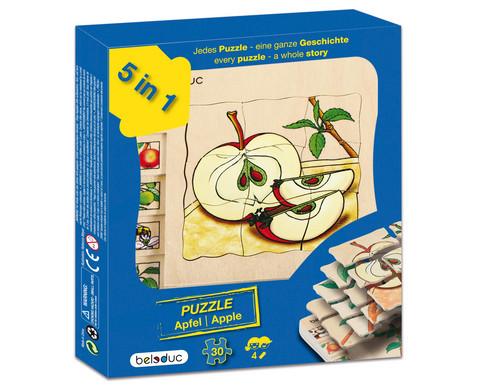Lagen-Puzzel Apfel-6