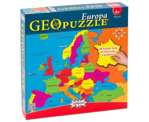 GeoPuzzle Europa-2