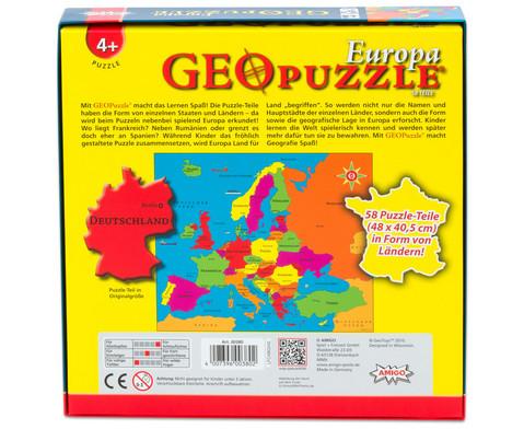 GeoPuzzle Europa-3