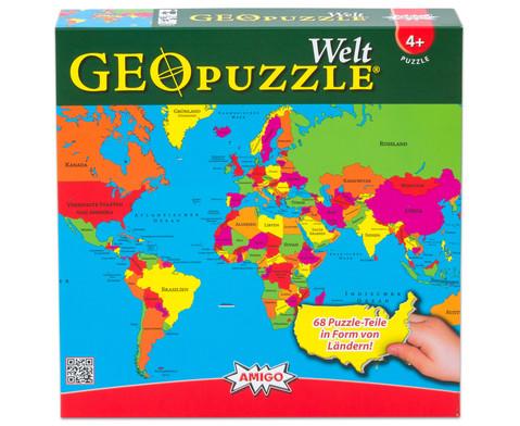 GeoPuzzle Welt