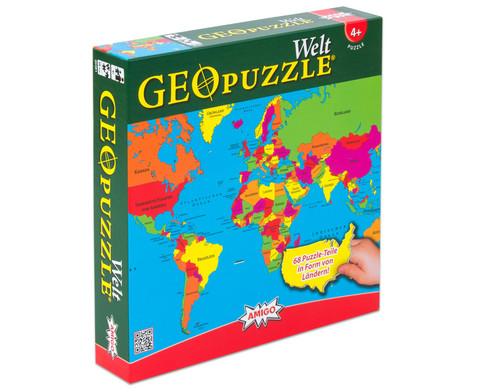 GeoPuzzle Welt-2