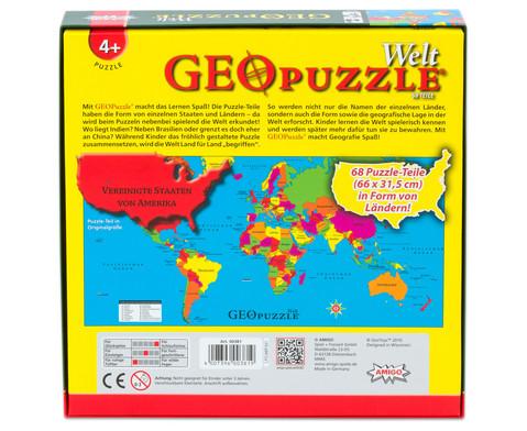 GeoPuzzle Welt-3
