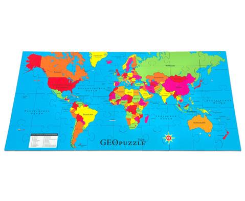 GeoPuzzle Welt-5