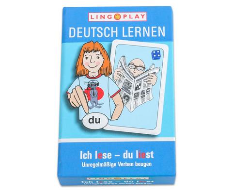 Deutsch lernen - Unregelmaessige Verben beugen-4