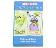 Deutsch lernen - Verben mit Dativ, Artikel richtig beugen