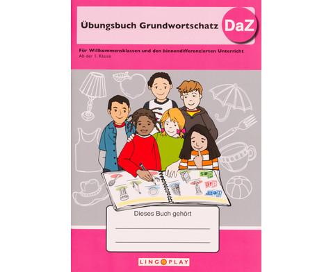 UEbungsbuch Grundwortschatz - DaZ-1