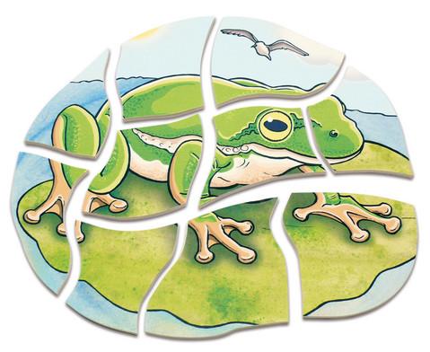 Lagen-Puzzle Frosch-3
