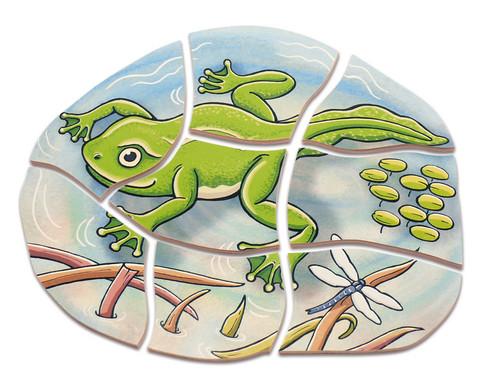 Lagen-Puzzle Frosch-5