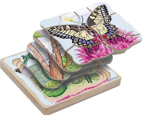 Lagenpuzzle Schmetterling