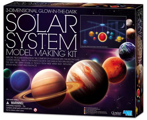 3D Sonnensystem Bausatz