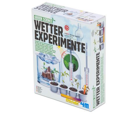 Wetter Experimente - Bausatz-1