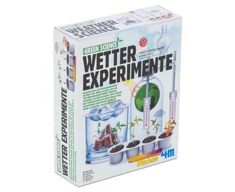 Wetter Experimente - Bausatz-2