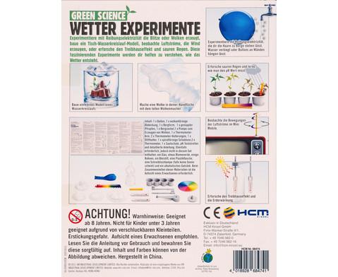 Wetter Experimente - Bausatz-3