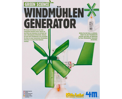Windmuehlen Generator - Bausatz-2