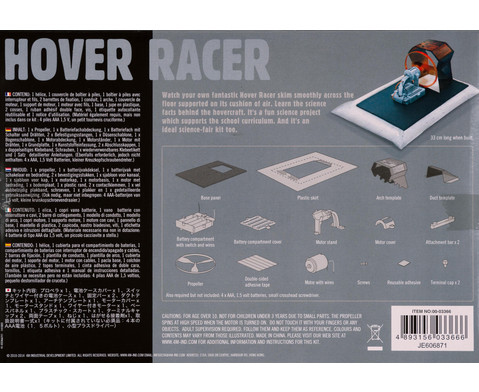 Hover Racer - Bausatz-2