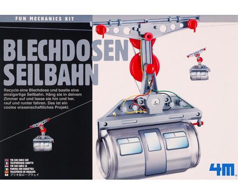 Blechdosen Seilbahn - Bausatz-3