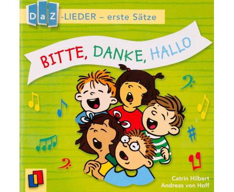 Bitte Danke Hallo DaZ-Lieder - erste Saetze-4