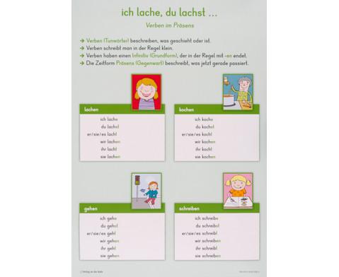 12 grosse Merk-Poster DaZ - erste Grammatik-2