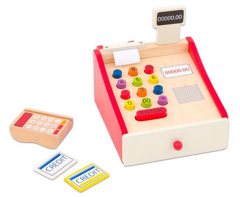 Holzkasse mit Kartenlesegeraet-1