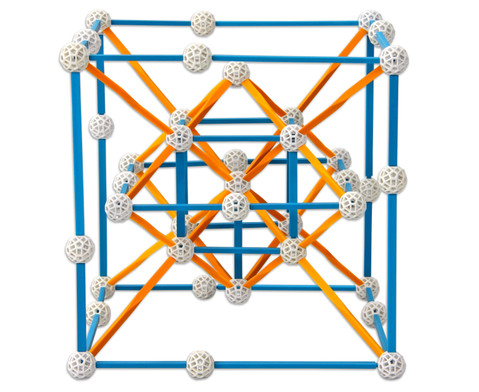 Zometool Platonische Koerper -  Bausatz-4