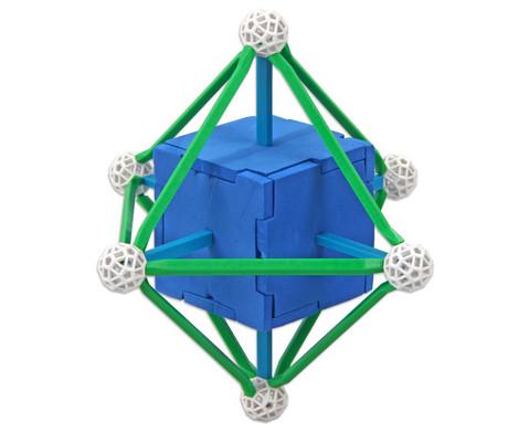 Zometool Platonische Koerper -  Bausatz-6
