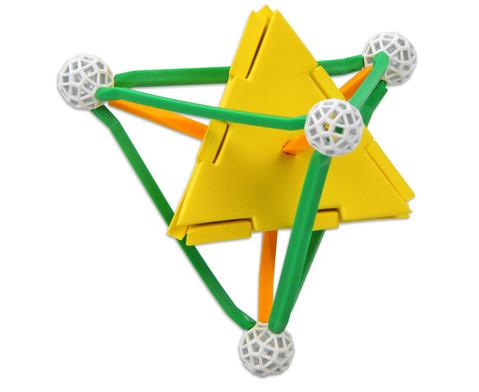 Zometool Platonische Koerper -  Bausatz-7