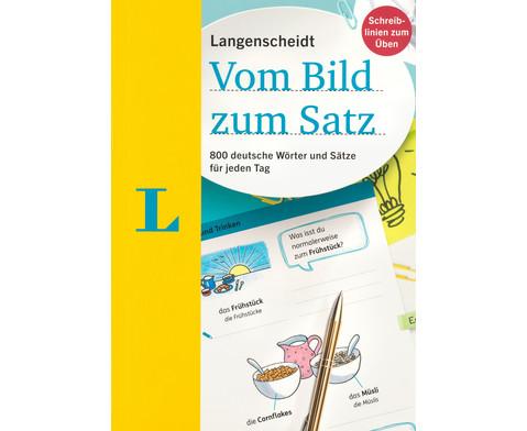 Langenscheidt - Vom Bild zum Satz-1