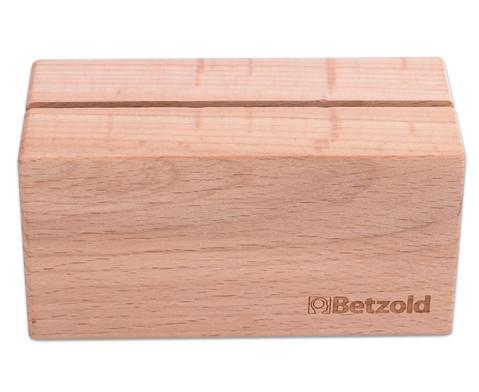 Aufsteller aus Massivholz-2