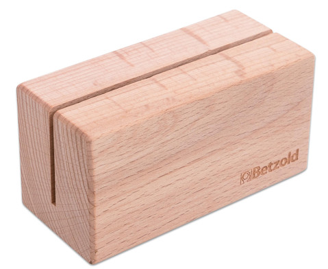 Betzold Aufsteller aus Massivholz