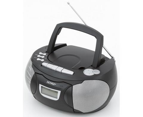 CD-Player TCP-39 schwarz-2