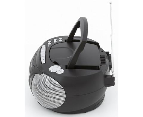 CD-Player TCP-39 schwarz-4