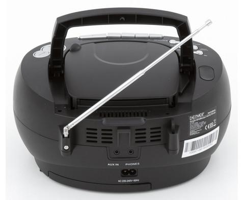 CD-Player TCP-39 schwarz-5