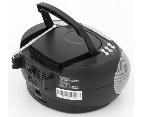 CD-Player TCP-39 schwarz-6