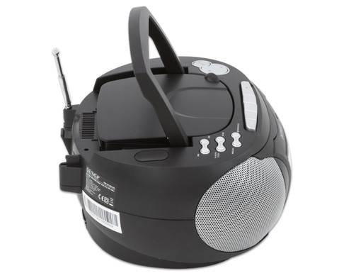 CD-Player TCP-39 schwarz-7