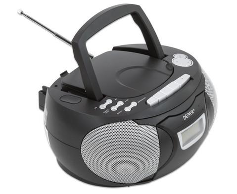 CD-Player TCP-39 schwarz-9