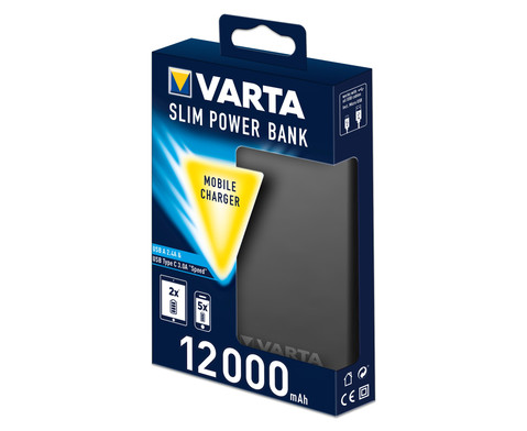 VARTA Slim Power Bank 12000 mAh-3
