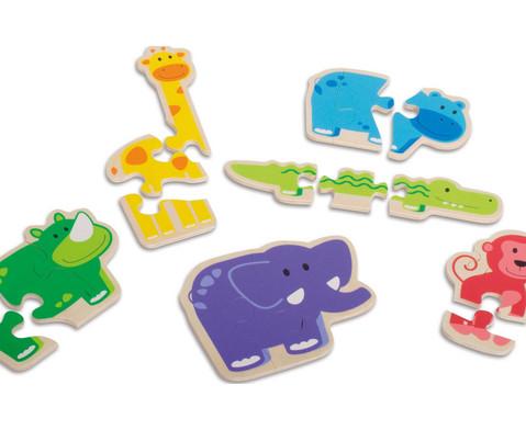 Puzzle Happy Animal