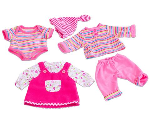 Puppenkleider-Set Rosa 3 Stueck-1