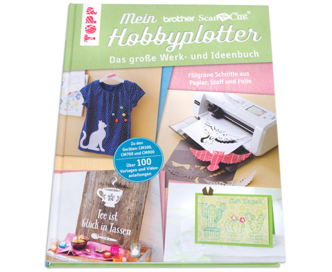 Buch Mein brother ScanNCut Hobbyplotter-4