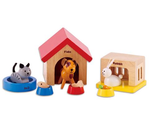 Puppenhaus Zubehoer Haustiere-1
