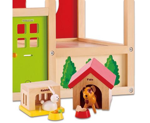 Puppenhaus Zubehoer Haustiere-2