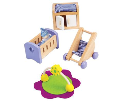 Puppenhaus Babyzimmer-2