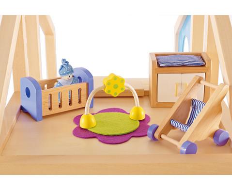 Puppenhaus Babyzimmer-3