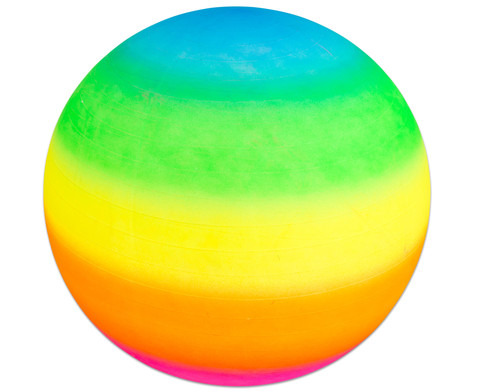 Regenbogen - Gymnastikball  1 m-2