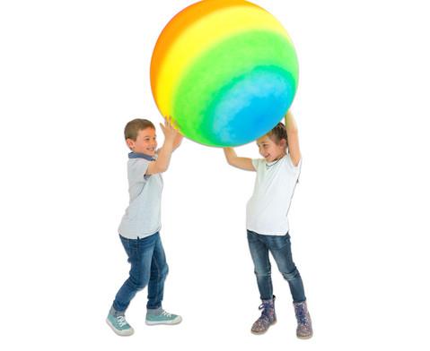 Regenbogen - Gymnastikball  1 m-3