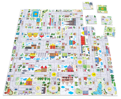 Stadt Spiel Legespass-5