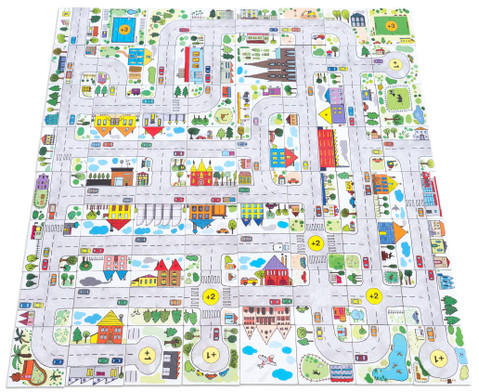 Stadt Spiel Legespass-6